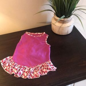 Other - Lips dog dress outfit medium